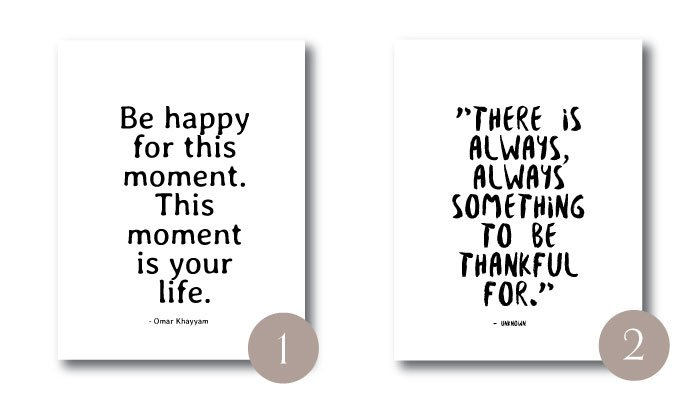 It's Thanksgiving and I'm thankful for you!  Here are 10 Thanksgiving-inspired Wall Art Printables! Did I mention they're all freebies?! #thanksgiving #printable #wallart #gratitude #thankful