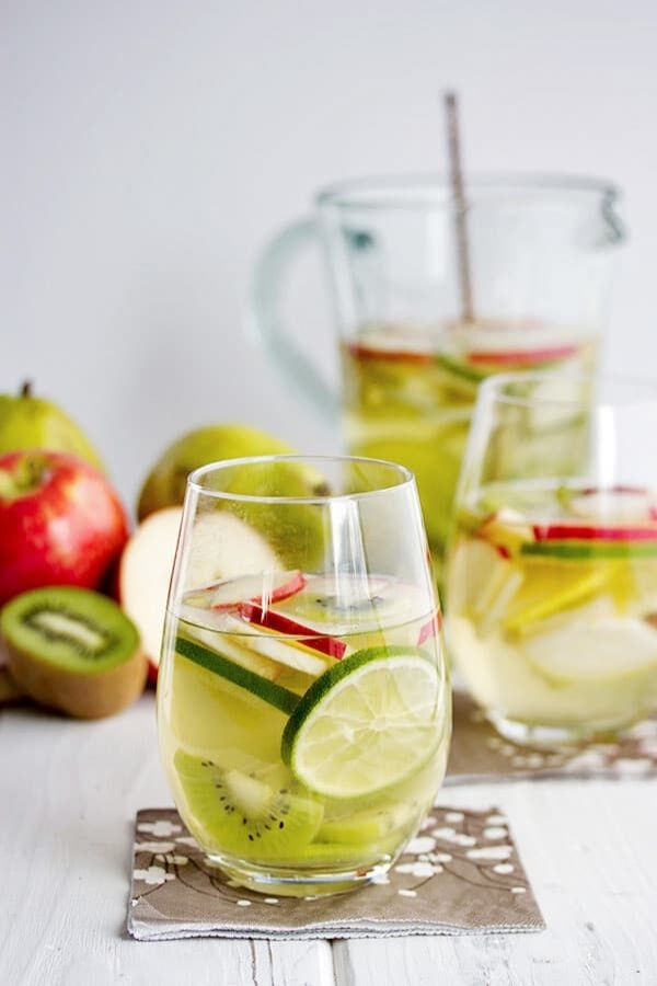 Source: cookswithcocktails.com // Are you looking for some green cocktails for this St. Patrick's Day?  I've got you covered!  Here are 10+ of my current favourite finds! #stpatricksday #stpatricksdaycocktails #greencocktails #tulipandsage