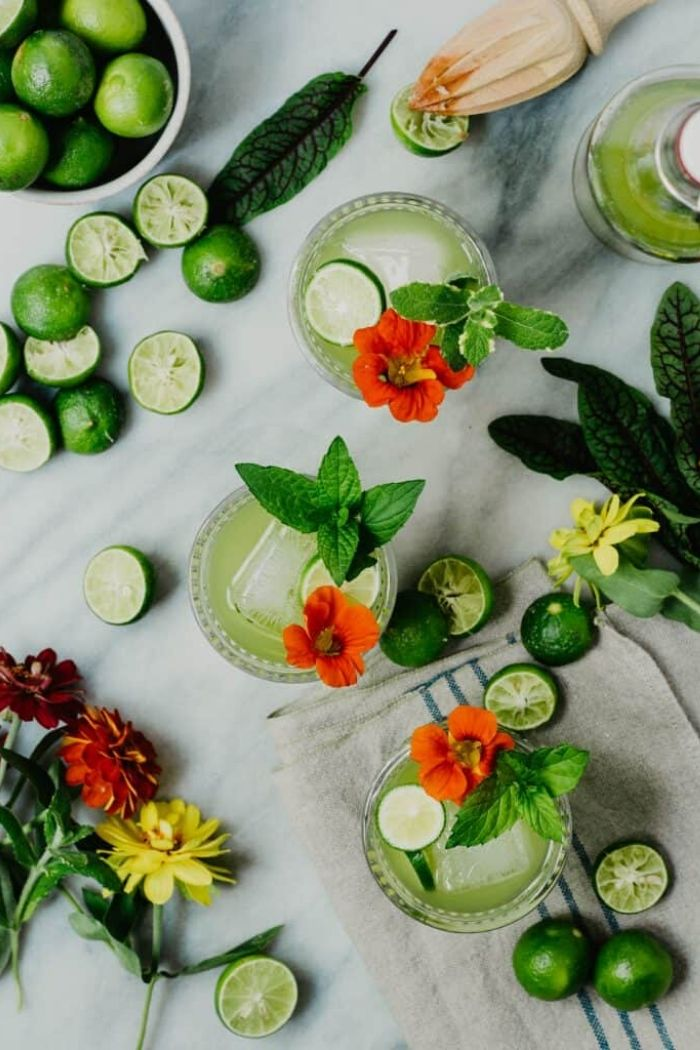 Source: crowdedkitchen.com // Are you looking for some green cocktails for this St. Patrick's Day?  I've got you covered!  Here are 10+ of my current favourite finds! #stpatricksday #stpatricksdaycocktails #greencocktails #tulipandsage