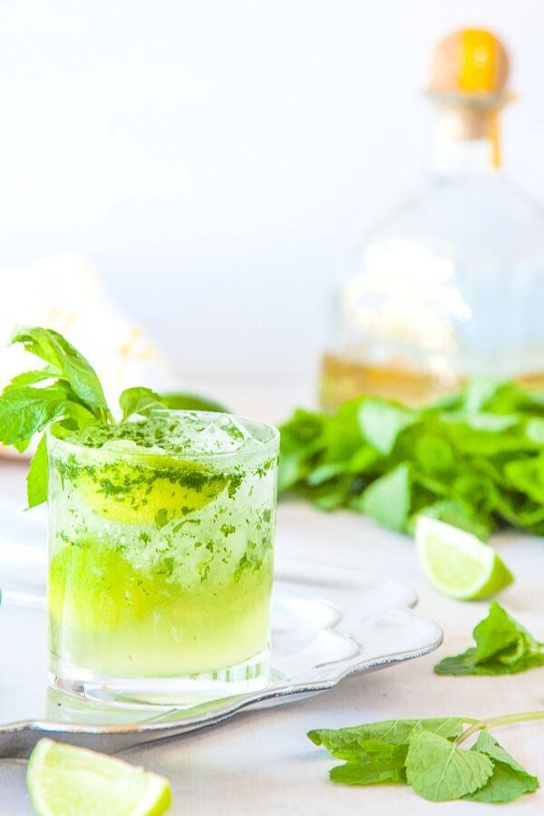 Source: deliciouseveryday.com // Are you looking for some green cocktails for this St. Patrick's Day?  I've got you covered!  Here are 10+ of my current favourite finds! #stpatricksday #stpatricksdaycocktails #greencocktails #tulipandsage