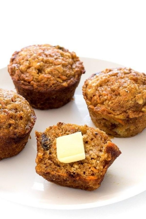 Source: chefsavvy.com / Are you looking for an easy and healthier breakfast option for your busy on-the-go mornings?  Here are 12 healthy muffin recipes you can try! #tulipandsage #healthymuffins #healthymuffinrecipe #healthymuffinrecipesbreakfast
