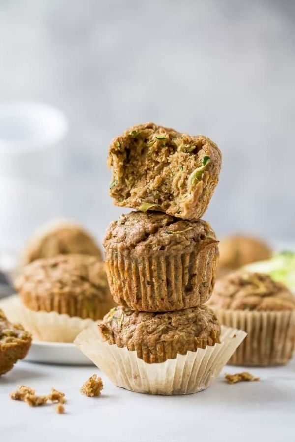 Source: joyfulhealthyeats.com / Are you looking for an easy and healthier breakfast option for your busy on-the-go mornings?  Here are 12 healthy muffin recipes you can try! #tulipandsage #healthymuffins #healthymuffinrecipe #healthymuffinrecipesbreakfast