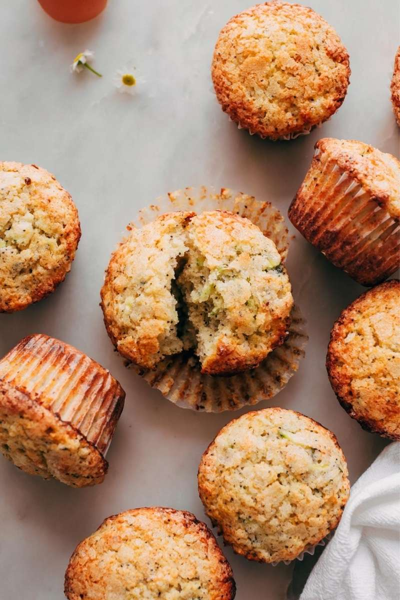 Source: littlespicejar.com / Are you looking for an easy and healthier breakfast option for your busy on-the-go mornings?  Here are 12 healthy muffin recipes you can try! #tulipandsage #healthymuffins #healthymuffinrecipe #healthymuffinrecipesbreakfast