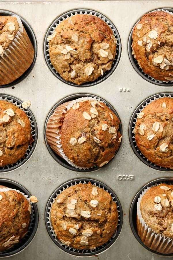 Source: okonomikitchen.com / Are you looking for an easy and healthier breakfast option for your busy on-the-go mornings?  Here are 12 healthy muffin recipes you can try! #tulipandsage #healthymuffins #healthymuffinrecipe #healthymuffinrecipesbreakfast