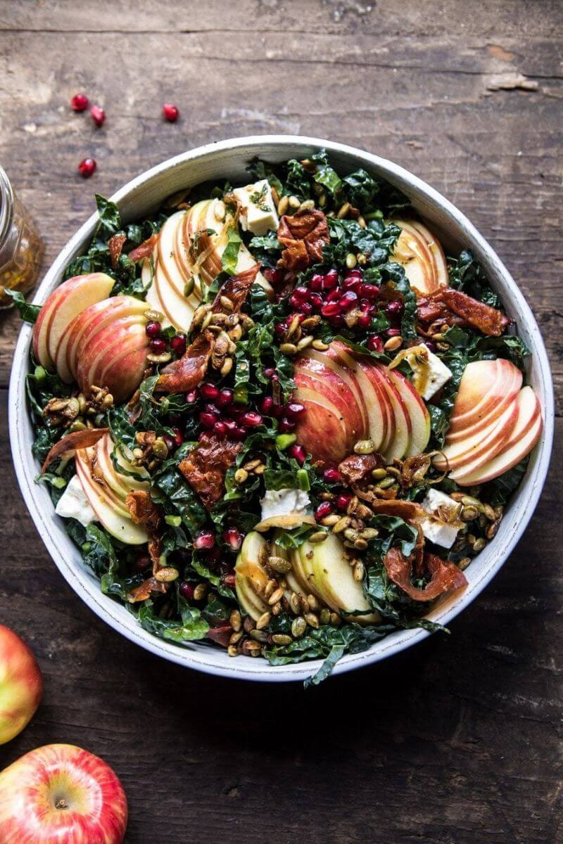 Source: halfbakedharvest.com / Hello apple lovers!  Are you looking for some new apple recipes to try this season?  Check out our top ten apple recipes to make this fall! #tulipandsage #applerecipes #fallapplerecipes #applerecipeseasy