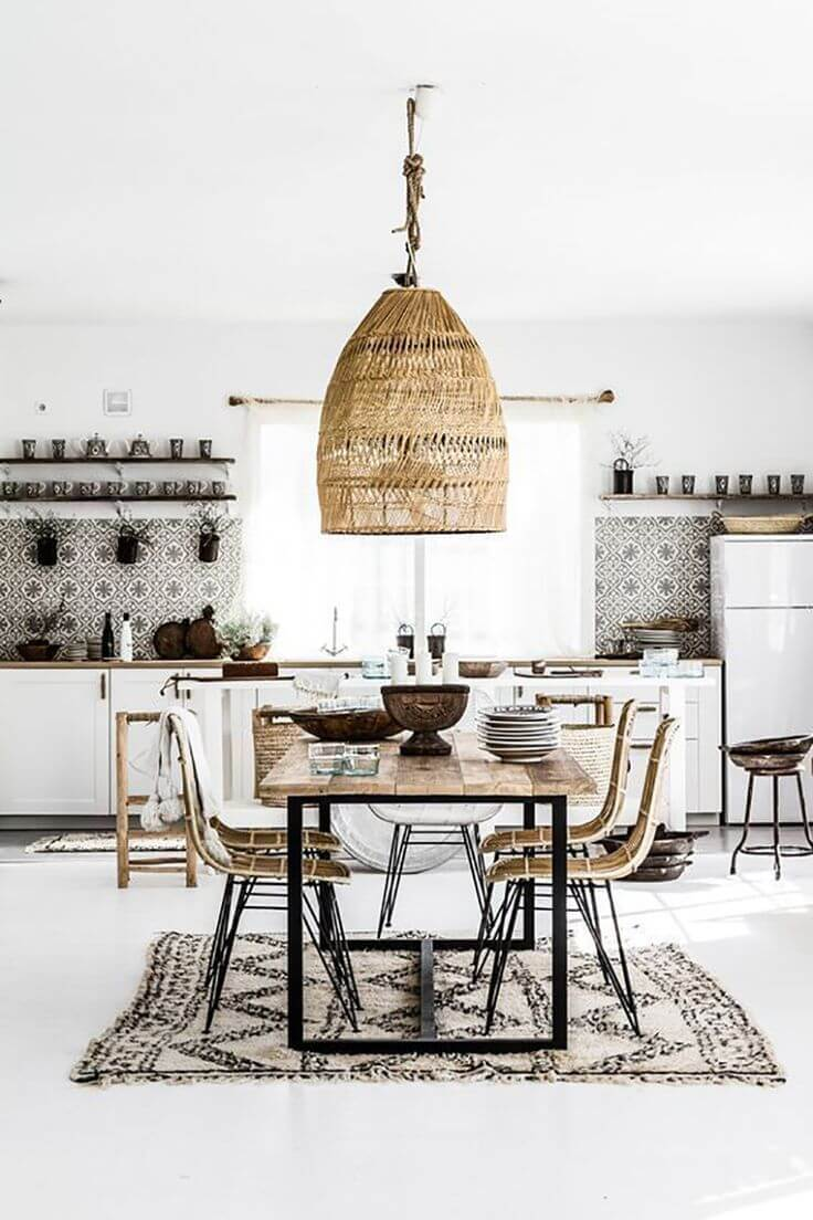 Source: mooielight.com / Do you share our crush on these lovely lights?  On the lookout for the perfect one? Check out our top wicker pendant light picks from Amazon! #tulipandsage #wickerpendantlight #amazonmusthaves #wickerlightfixture