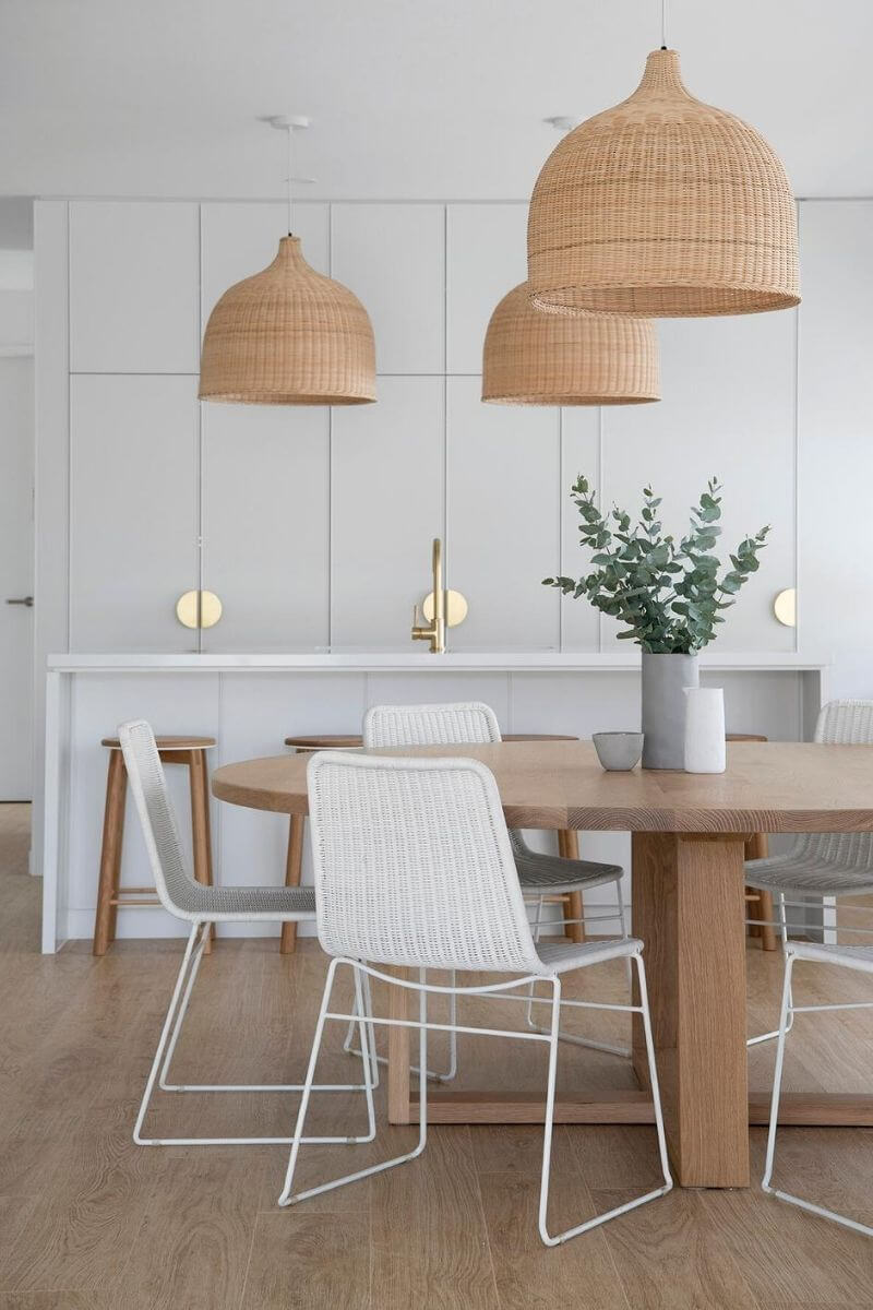 Source: zephyrandstone.com.au / Do you share our crush on these lovely lights?  On the lookout for the perfect one? Check out our top wicker pendant light picks from Amazon! #tulipandsage #wickerpendantlight #amazonmusthaves #wickerlightfixture