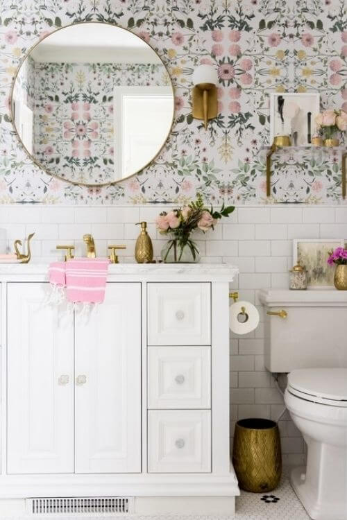 Currently Coveting: Floral Wallpaper - Tulip and Sage