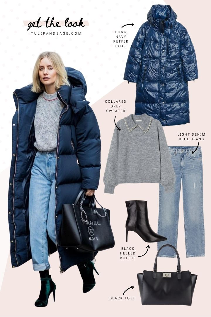 Ready for some outfit inspiration? On today's Get The Look, we're featuring this stylish winter outfit, and our favourite finds to pull this look together! #outfitinspirationwinter #puffercoatoutfit #pufferjacketoutfit #winteroutfitscold