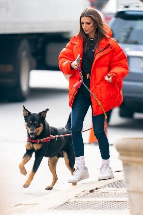 source: vogue.com/ Dressing for warmth doesn't feel the most stylish. Here are puffer coat outfit ideas that combine warmth and style to inspire your wardrobe this winter! #winteroutfitscold #winteroutfitswomen #puffercoatoutfits #winterpuffercoatoutfits